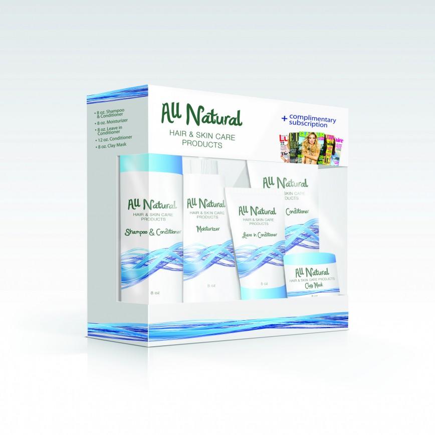 All Natural Product Mockup | Sage River Graphics